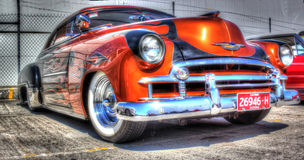Custom painted 2 door Chevy Royalty Free Stock Photo