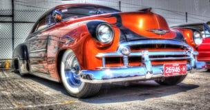 Custom painted 2 door Chevy Royalty Free Stock Photo