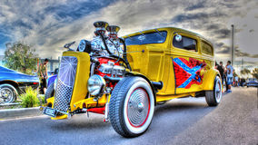 Custom painted hot rod Stock Images