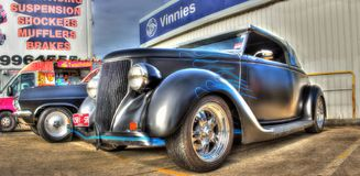 Custom painted 1930s Ford Royalty Free Stock Image