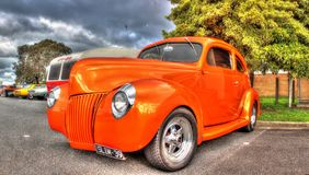 Custom painted 1930s American Ford Royalty Free Stock Images