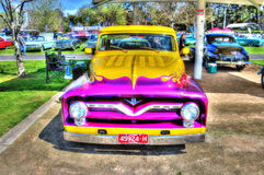 Custom Painted V8 pick up truck Stock Photography