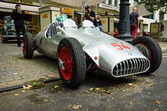 Custom race car, based Alfa Romeo and engine of BMW 328, 1951 Stock Photography