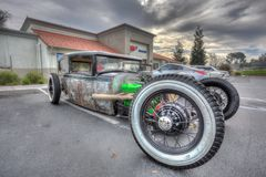 Custom Rad Rod in HDR Royalty Free Stock Photography