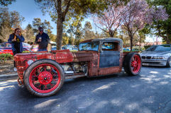 Custom Rat Rod Stock Images