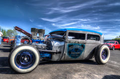 Custom Roadster Hot Rods Stock Photo
