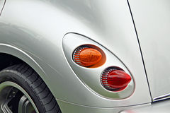 Custom rocket rear lamps Stock Photo