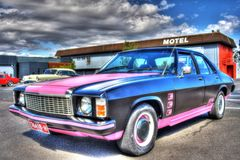 Custom 1970s Australian Holden GTS Monaro Stock Image