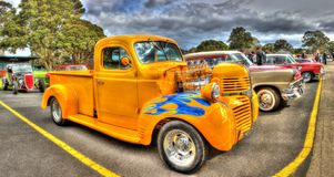 Custom 1940s Dodge pick up truck hot rod Royalty Free Stock Image