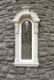 Custom Single Large Window on Home Stock Image