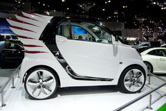 Custom Smart car. Student made custom mod SMART car Royalty Free Stock Photography