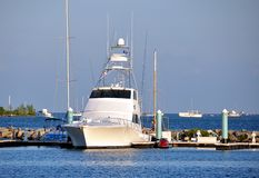 Custom Sportfishing Boat Stock Images