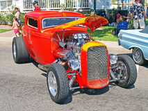 Custom Three Window Coupe Royalty Free Stock Images