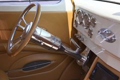Custom Trophy Winner in Frankenmuth. Custom pickup truck with incredible interior Royalty Free Stock Photos
