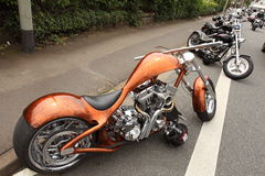 Customed Harley Davidson Imagem de Stock Royalty Free
