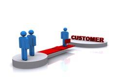 Customer Stock Photo