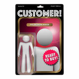 Customer Action Figure Toy Find New Client Buyer Stock Photo