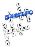 Customer assist Royalty Free Stock Photos