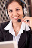 Customer care assistant Stock Photos