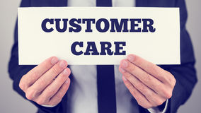 Customer care Stock Photography