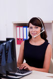 Customer care  executive Stock Photos