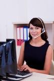 Customer care  executive Stock Photos