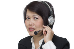 Customer care representative Stock Photography