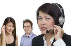 Customer care representative Royalty Free Stock Photography