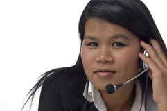Customer care representative Royalty Free Stock Photos
