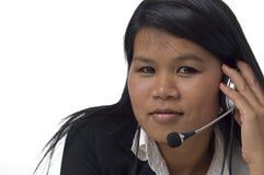 Customer care representative Royalty Free Stock Photos