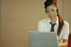 Customer care representative Royalty Free Stock Photo