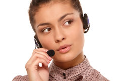 Customer Care Representative Stock Photos