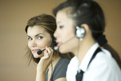 Customer care representatives Royalty Free Stock Photography
