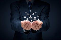 Customer or employees care concept Stock Photos