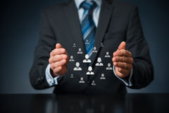 Customer or employees care concept stock photography