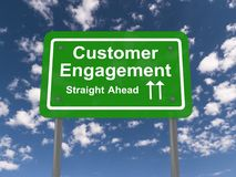 Customer engagement Royalty Free Stock Images
