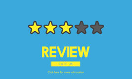 Customer Feedback Comment Vote Review Results Concept Stock Photography