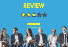 Customer Feedback Comment Vote Review Results Concept Stock Images