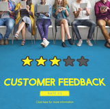 Customer Feedback Comment Vote Review Results Concept Royalty Free Stock Images