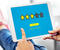 Customer Feedback Comment Vote Review Results Concept Royalty Free Stock Photography