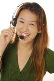 customer female service Στοκ Εικόνες