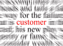 Customer Focused Royalty Free Stock Image