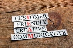 Customer friendly team Stock Photo