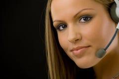 customer girl service Στοκ Εικόνες
