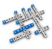 Customer loyalty Royalty Free Stock Image