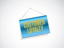 Customer loyalty banner sign concept Stock Photos