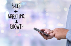 Customer Marketing Sales Dashboard Gra Royalty Free Stock Images