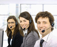 customer operators service Royaltyfria Foton