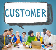 Customer Purchaser Satisfaction Consumer Service Concept Stock Photography