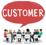 Customer Purchaser Satisfaction Consumer Service Concept Royalty Free Stock Photo